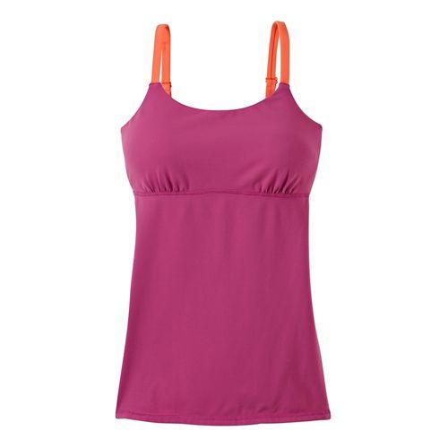 Womens Prana Nixie Top Sleeveless & Tank Technical Tops - Vivid Viola M