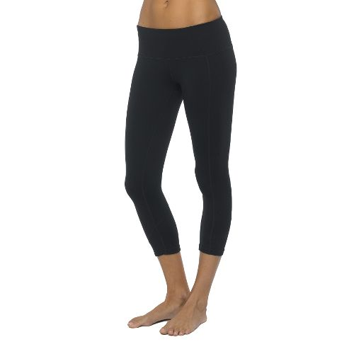 Womens Prana Prism Capri Tights - Black L