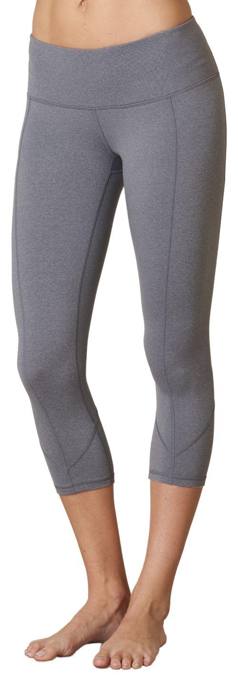 Womens Prana Prism Capri Pants - Heather Grey XL