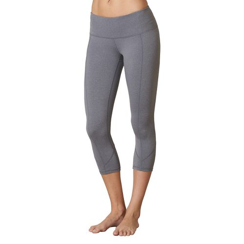 Womens Prana Prism Capri Pants - Heather Grey XL
