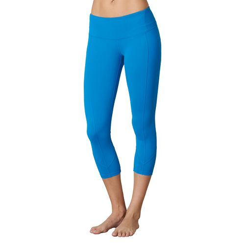 Womens Prana Prism Capri Pants - Electro Blue XL