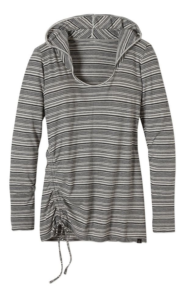 Prana Vinyasa Hoodie Long Sleeve Hooded Non-Technical Tops
