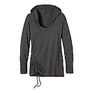 Womens Prana Vinyasa Hoodie Long Sleeve Hooded Non-Technical Tops