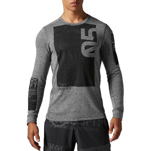 Men's Reebok�CrossFit Tri-Blend Long Sleeve Graphic