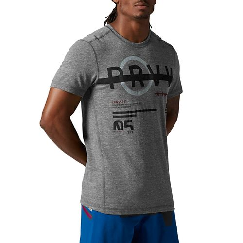 Men's Reebok�CrossFit Tri-Blend Short Sleeve Graphic