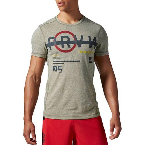 Men's Reebok�CrossFit Tri-Blend Short Sleeve Graphic