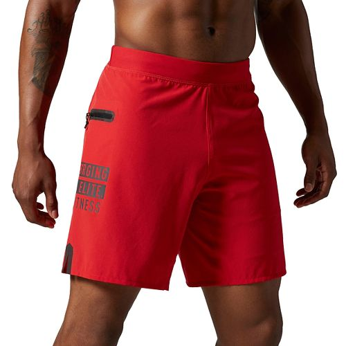 Mens Reebok CrossFit Super Nasty Endurance Unlined Shorts - Red M