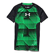 Kids Under Armour Up HeatGear Fitted T Short Sleeve Technical Tops