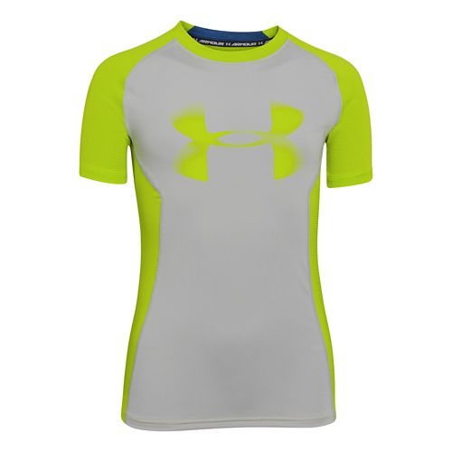 Kids Under Armour�Up HeatGear Fitted Shortsleeve T