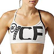 Womens Reebok CrossFit Skinny Strap Graphic Bra Bras