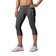 Womens Reebok CrossFit Chase Capri Tights