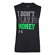 Kids Under Armour Not for Money T Sleeveless Technical Tops