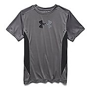 Kids Under Armour Show Me Sweat UPF T Short Sleeve Technical Tops