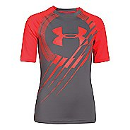 Kids Under Armour Show Me Sweat T Short Sleeve Technical Tops
