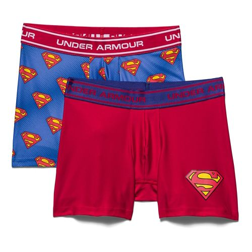 Kids Under Armour�Alter Ego Superman BoxerJock 2-Pack