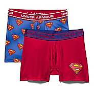 Kids Under Armour Alter Ego Superman BoxerJock 2-Pack Boxer Brief Underwear Bottoms