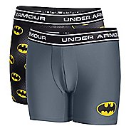 Kids Under Armour Alter Ego Batman BoxerJock 2-Pack Boxer Brief Underwear Bottoms