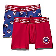 Kids Under Armour Alter Ego Captain BoxerJock 2-Pack Boxer Brief Underwear Bottoms