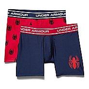 Boys Under Armour Alter Ego Spider Man BoxerJock 2-Pack Boxer Brief Underwear Bottoms