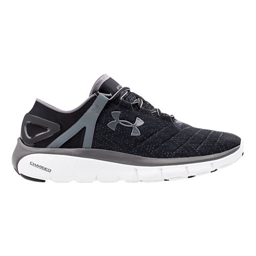 Mens Under Armour Speedform Fortis Running Shoe - Black/Graphite 11.5