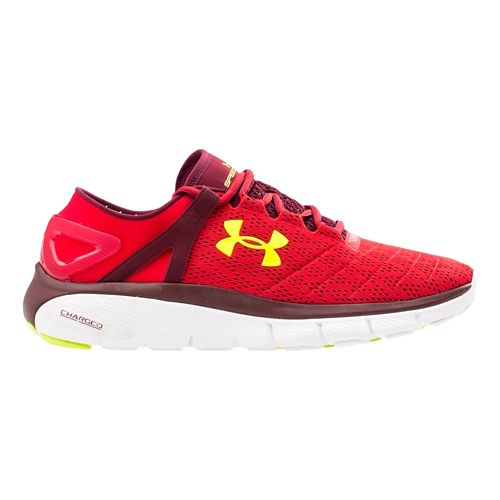 Mens Under Armour Speedform Fortis Running Shoe - Red/Black 8