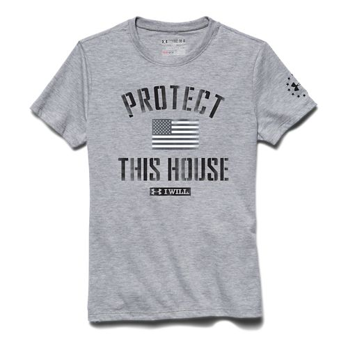 Kids Under Armour Alter Ego PTH I Will T Short Sleeve Technical Tops - Midnight ...