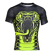 Mens Under Armour 100% Beast Cobra Compression Shirt Short Sleeve Technical Tops