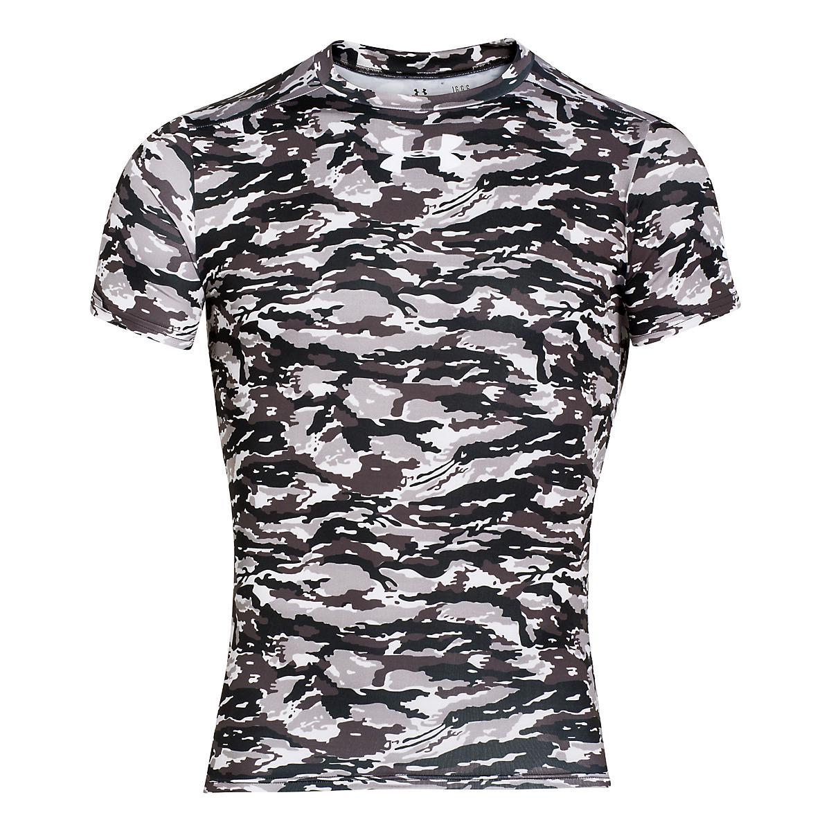 Men's Under Armour�Woodland Stealth Camo Compression Shirt