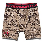 Mens Under Armour Desert Digi Camo Compression Unlined Shorts