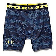 Mens Under Armour Shipboard Digi Camo Compression Unlined Shorts