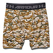 Mens Under Armour Woodland Camo Compression Unlined Shorts