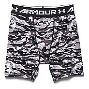 Mens Under Armour Woodland Stealth Camo Compression Unlined Shorts