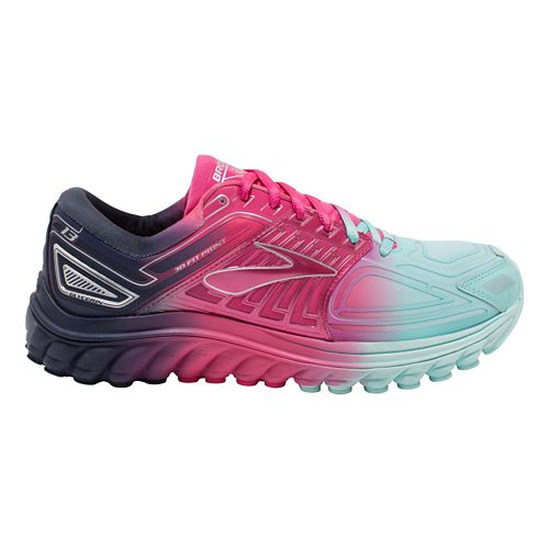 Womens Brooks Glycerin 13 Aurora Running Shoe - Ombre 7