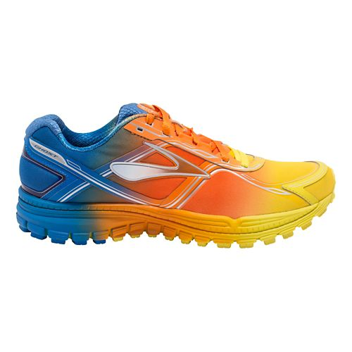 Mens Brooks Ghost 8 Aurora Running Shoe - Ombre 14