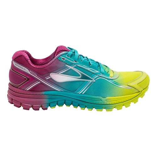Womens Brooks Ghost 8 Aurora Running Shoe - Ombre 10