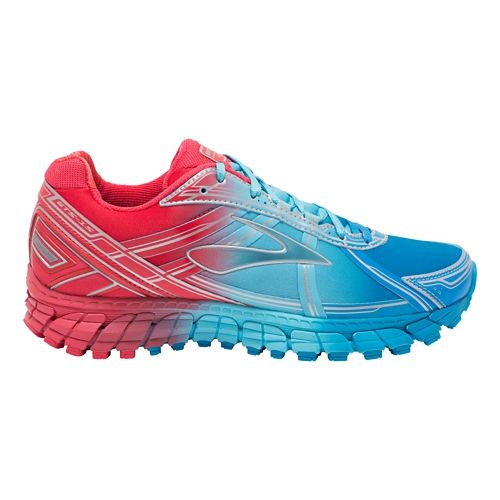 Womens Brooks Adrenaline GTS 15 Aurora Running Shoe - Ombre 8