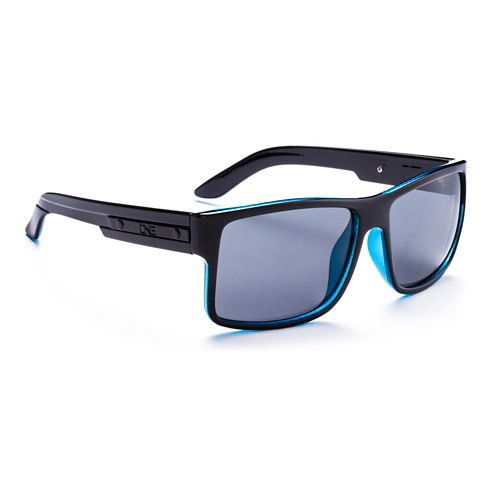 ONE Festivus Polarized Sunglasses - Shiny Black Blue