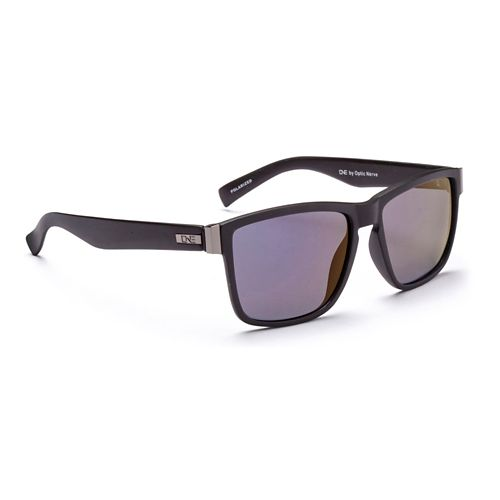 ONE Hendrix Polarized Sunglasses - Matte Black Blue