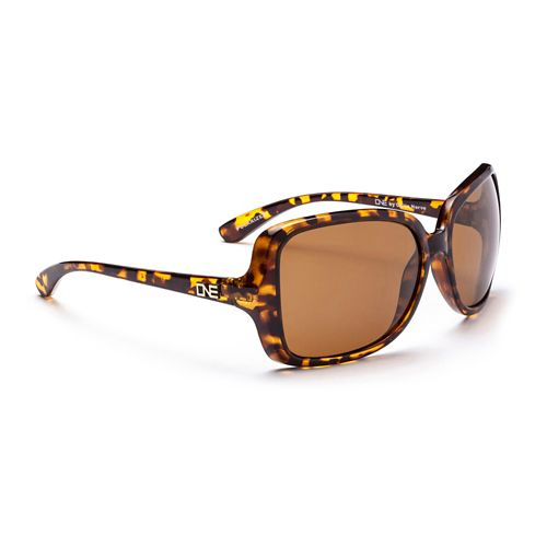 Womens ONE Aphrodite Polarized Sunglasses - Honey Denim