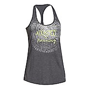 Womens Under Armour Addicted to Running Tank Technical Tops