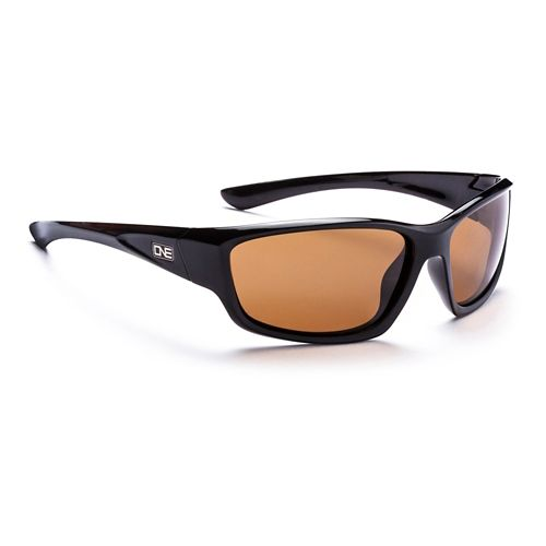 ONE Avalanche Polarized Sport Sunglasses - Black