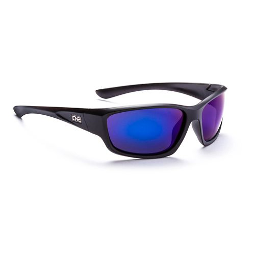 ONE Avalanche Polarized Sport Sunglasses - Matte Black