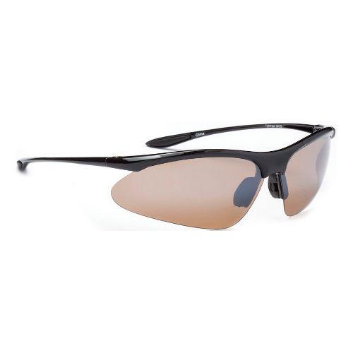 ONE Tightrope Polarized Sport Sunglasses - Shiny Black