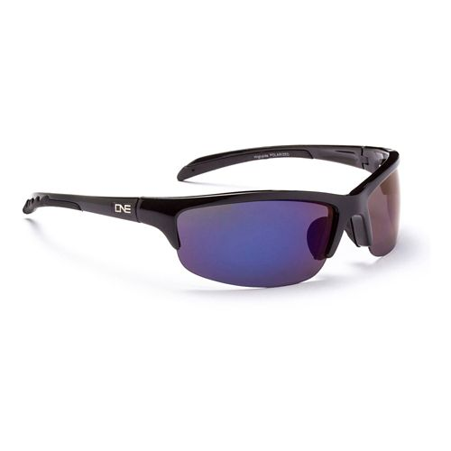 ONE Highside Polarized Sport Sunglasses - Black