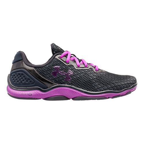 Womens Under Armour MicroG Sting TR NiteBrite Cross Training Shoe - Anthracite 11