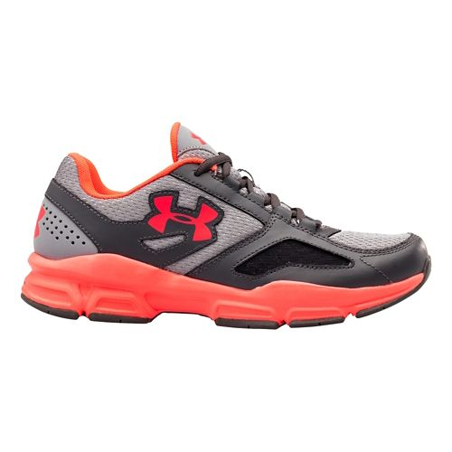 Womens Under Armour Zone Cross Training Shoe - Charcoal/Steel 11