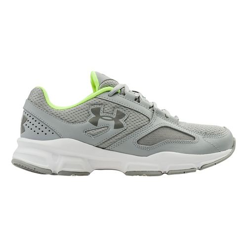 Womens Under Armour Zone Cross Training Shoe - Overcast Grey/White 8.5