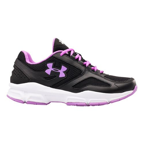 Womens Under Armour Zone Cross Training Shoe - Charcoal/Steel 9.5