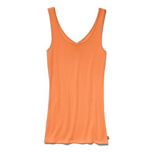 Women's Under Armour Double Threat Tank Technical Tops - Cyber Orange XS