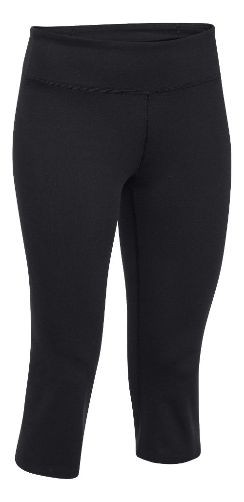 Womens Under Armour Studio City Hopper Capri Tights - Black XS